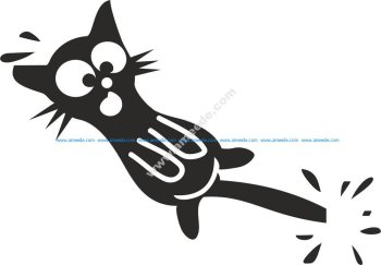 Cat Stickers Vector