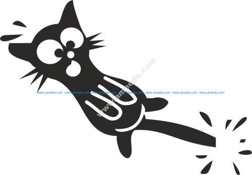Cat Stickers Vector