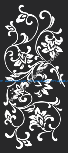 Ceiling Grille Detail Stencil