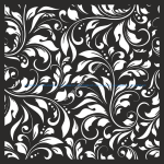 Damask Floral Vector Seamless Pattern