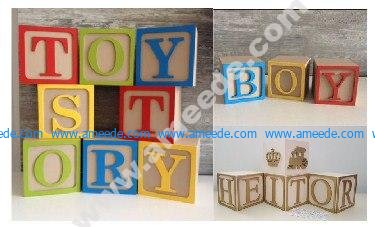 Decoration Cube