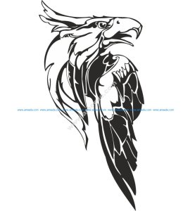 Eagle Predatory Bird Illustration Vector