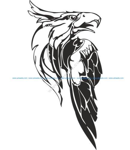 Eagle Predatory Bird Illustration Vector