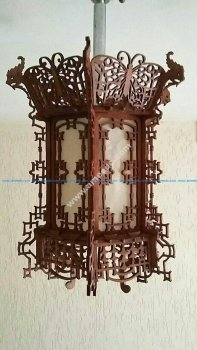 Fancy Chandelier 3D Puzzle CNC Lasercut