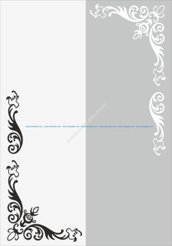 Flower Wall Decal Vector