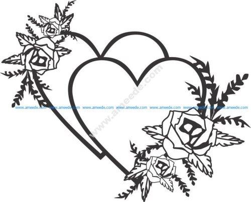 Flowers wedding design