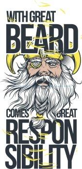 Great Beard Print