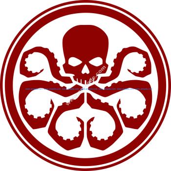 Hydra logo vector