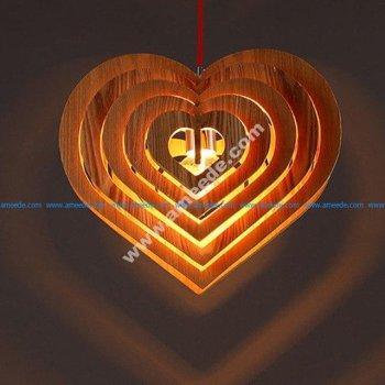 Lamp Fiery Heart Danko