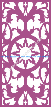 Laser Cut Panel Pattern Vector