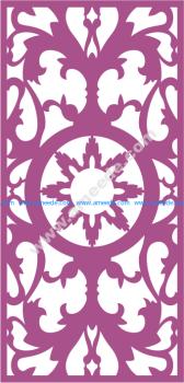 Laser Cut Panel Pattern Vector