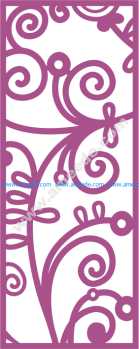 Laser Cut Vector Panel Seamless 169