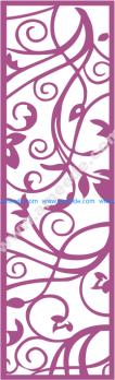 Laser Cut Vector Panel Seamless 186