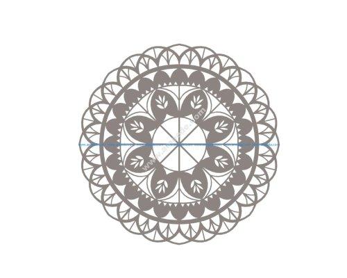 Mandala Vector Mandala Floral Mandala Flower Vector