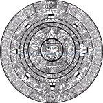 Mayan Calendar Vector Art