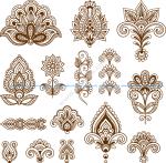 Mehndi Free Vector Art