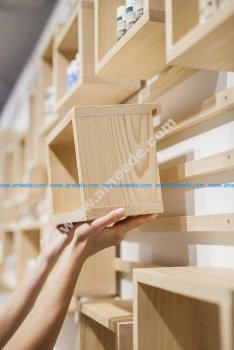 Modular Shelving Units DIY 3D Puzzle