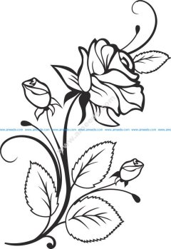 Rose Vector Design