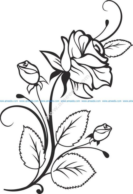 Rose Vector Design