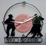 Tango Argentino Vinyl Record Wall Clock