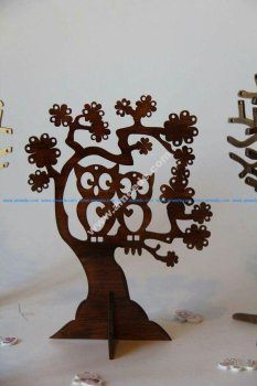 Tree with Birds CNC Router Plan