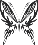 Tribal Butterfly Vector Art 23