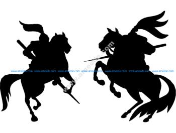War Horse Silhouette