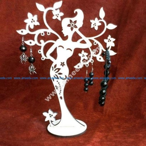 Woman Tree Stand for jewelry
