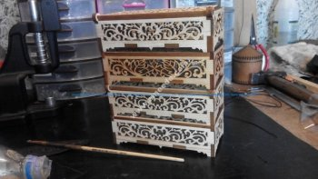 Wooden Casket Box
