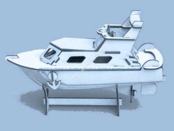 Yacht Laser Cut Puzzle Model