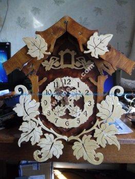 Laser Cut Pattern Cuckoo Clock