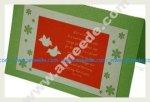 Create a Custom Christmas Card with a Laser