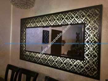 Decorative Framed Mirror Large
