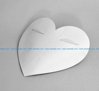 Gift carton Heart with eyes