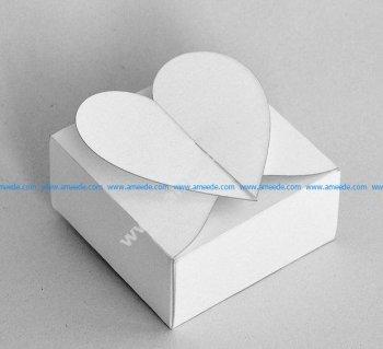 Gift carton Hearts 60x60x30