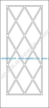 Interior Door Design CAD Block