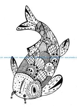 Justcolor zentangle 3