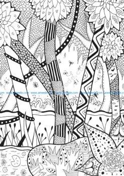 Justcolor zentangle 5