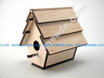 Laser Cutting a Birdhouse