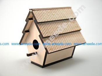 Laser Cutting a Birdhouse