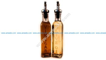 Laser Engraving Oil & Vinegar Bottles