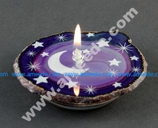 Laser Engraving an Agate Oil Candle