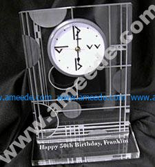Laser Engraving and Cutting an Acrylic Clock