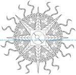 Mandala électrique