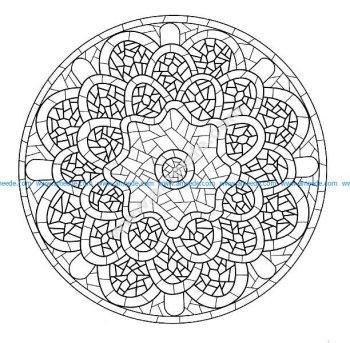 Mandala a colorier gratuit a imprimer 7
