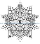 Mandala a colorier zen relax gratuit 20