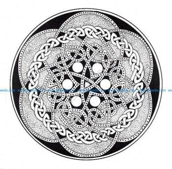 Mandala celtique 13