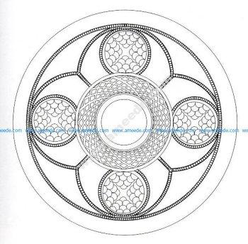 Mandala celtique 4