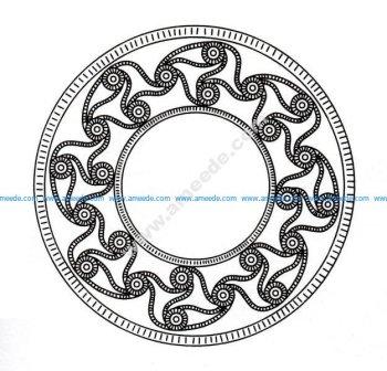 Mandala celtique 7