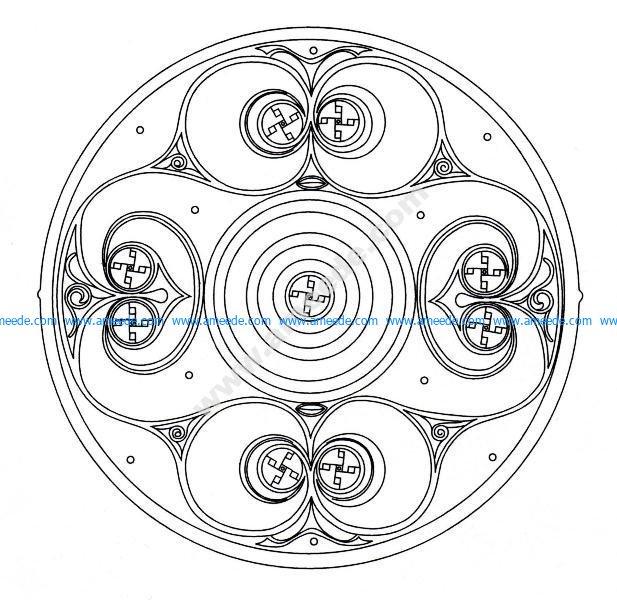 Mandala celtique 9